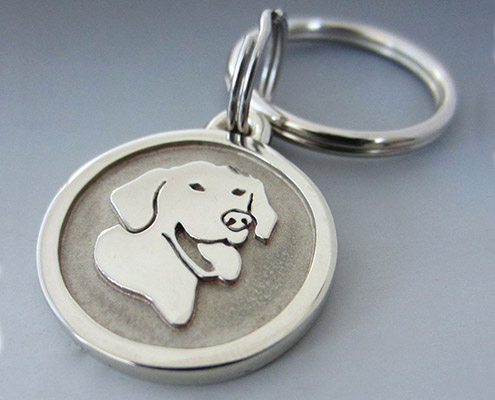 Engraved Pet Keychains