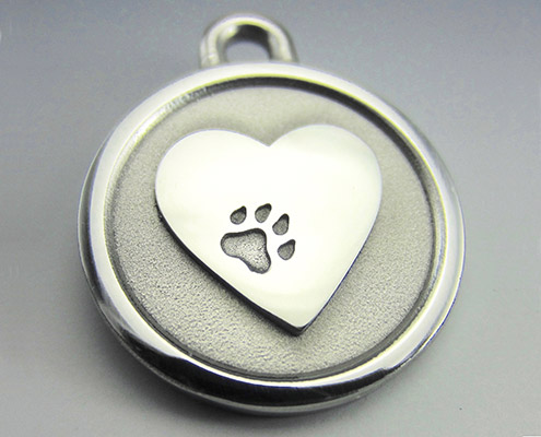 medium dog id tags